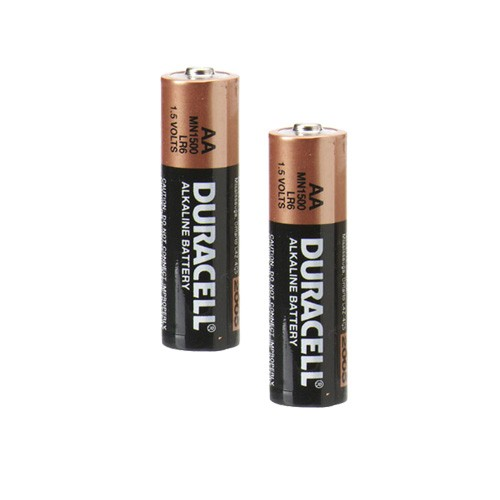 Duracell CopperTop AA Alkaline Batteries 2-Pack (Expires March 2016) MN1500