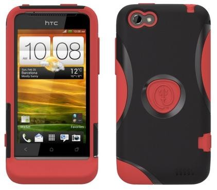 Trident - Protective Aegis Case for HTC ONE V - Red