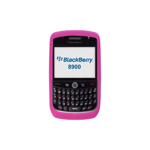 Incipio Technologies - Silicone Gel Skin for BlackBerry 8900 - Pink
