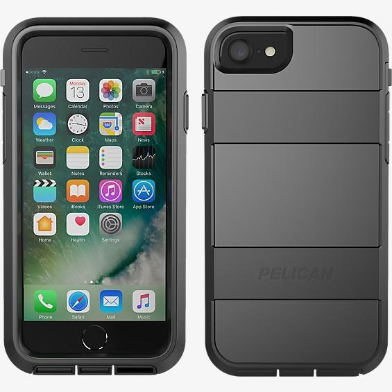 Pelican Voyager Case for iPhone 7 - Black/Black