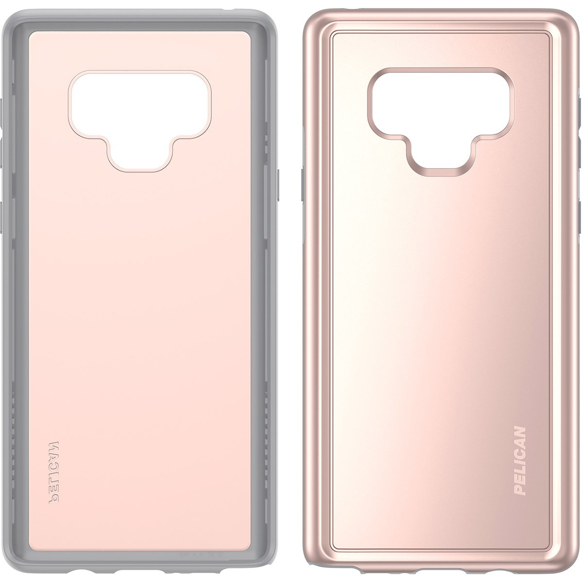 the latest 558cc 3bb45 Pelican Adventurer Case for for Samsung Galaxy Note 9 - Rose Gold/Gray