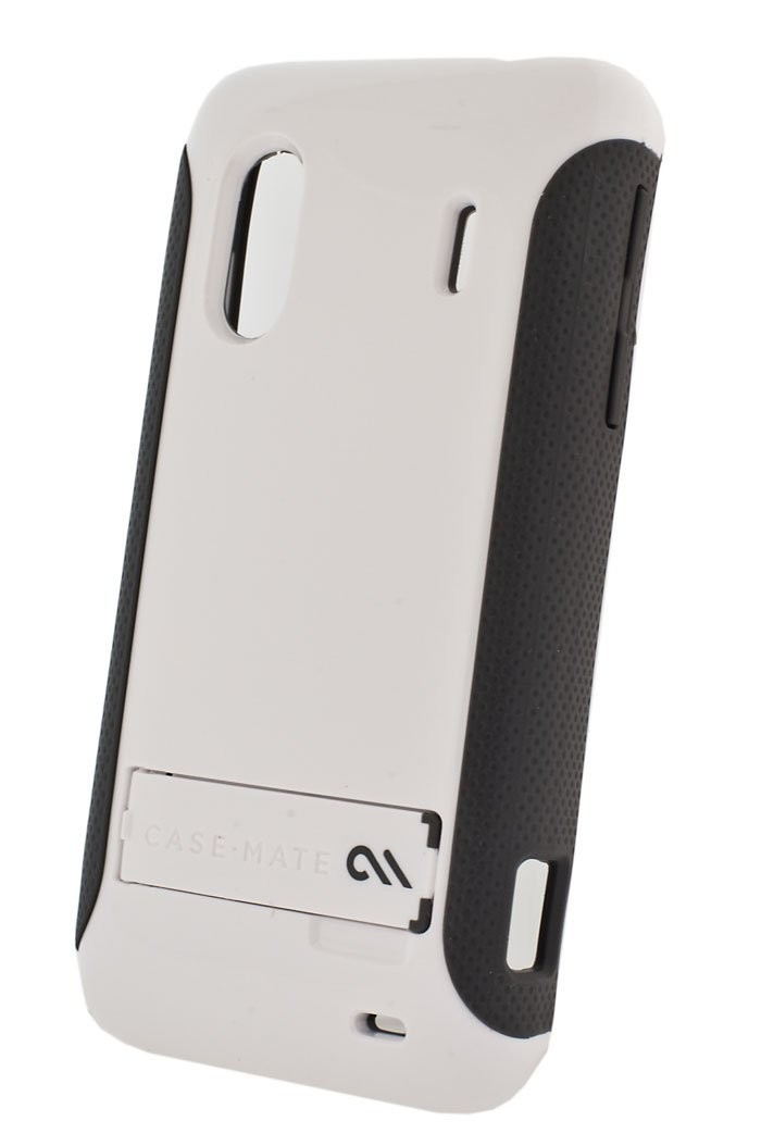 Case-Mate Pop! Case with Stand for HTC EVO Design 4G (White/Gray)