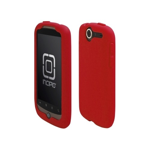 Incipio Technologies - Incipio dermaSHOT Silicone Case for HTC Google Nexus One - Deep Red