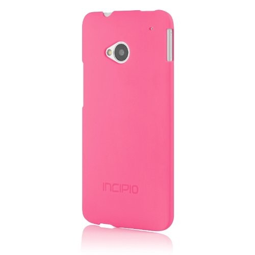 Incipio Slim Form-Fitting Feather Case for HTC One  - Neon Pink