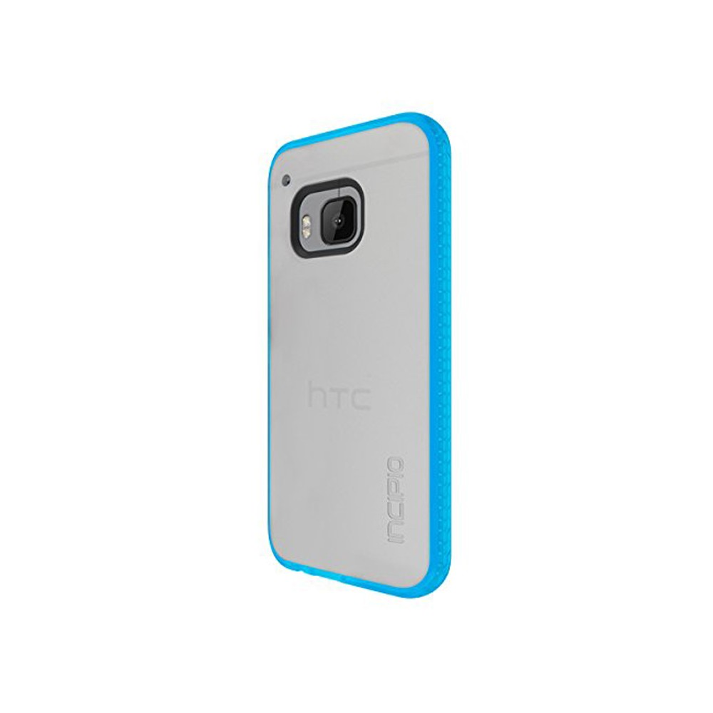Incipio Shock Absorbent Octane Case for HTC One M9 - Frost/Neon Blue