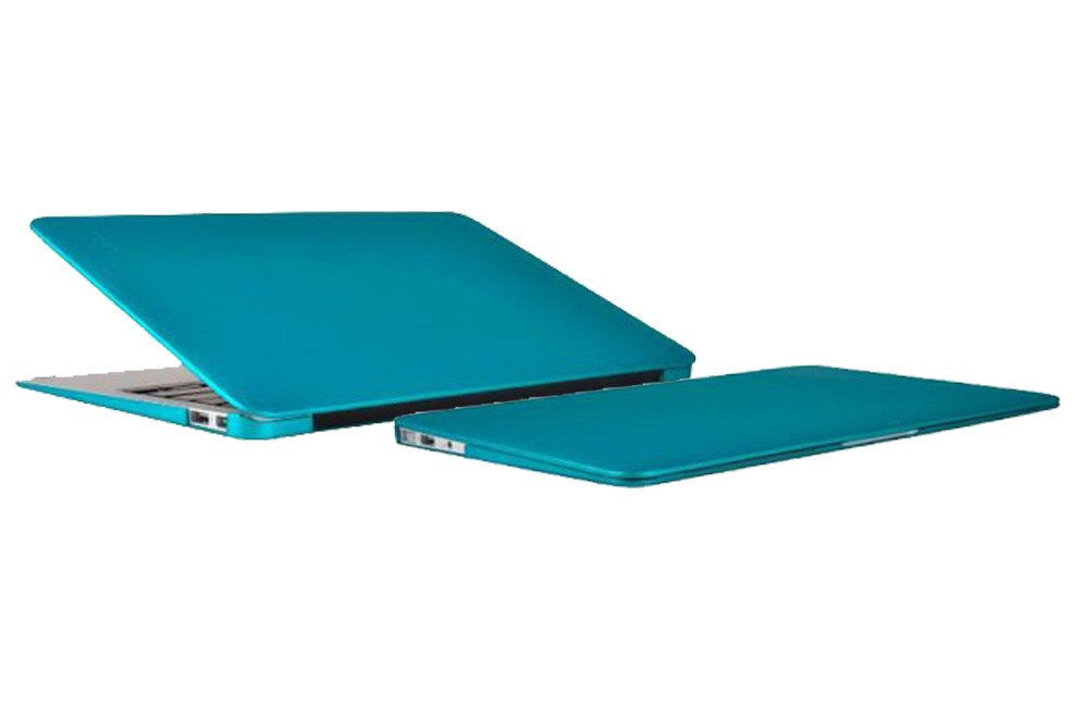 best service f345c 78f79 Incipio Feather Ultralight Hard Shell Case for MacBook Air 11 inch - Matte  Iridescent Teal