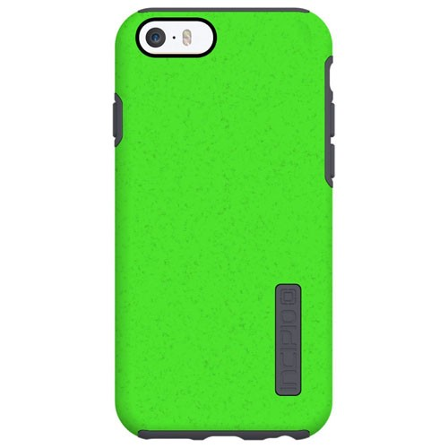 classic fit f68ec 249dd Incipio DualPro Shock Absorbing Case for Apple iPhone 6/6S - Neon Green/Gray