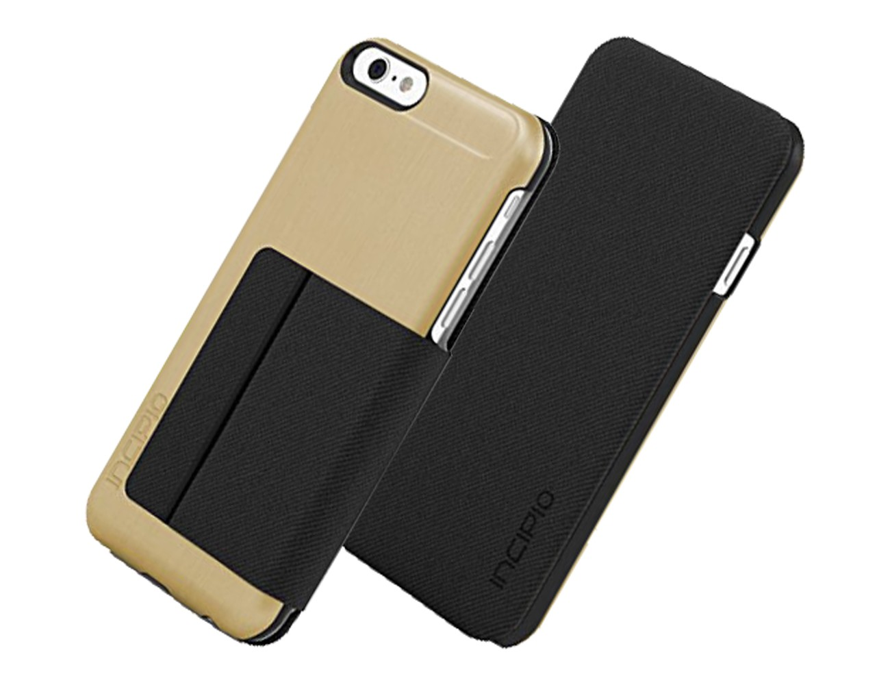 Incipio Highland Case Cover for Apple iPhone 6 (Gold/Black) - IPH-1183-GLDBLK