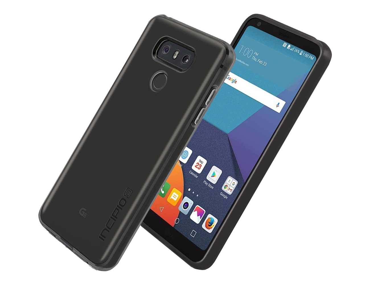 best service dad9d a4b55 Incipio NGP Pure Case for LG G6 in Smoke