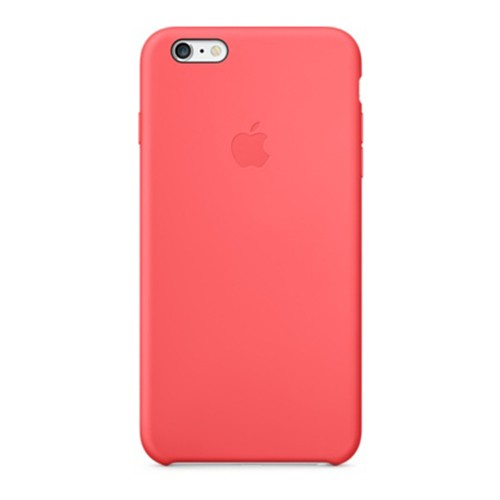 best service c53f3 7efb1 Original Apple Silicone Case for iPhone 6/6S - Pink