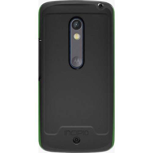 Incipio Performance Level 5 Case with Holster for Motorola Droid Maxx 2 (Black/Neon Green)