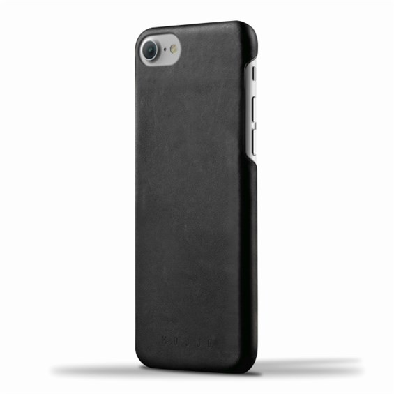 Mujjo Leather Case for Apple iPhone 7/8 - Black