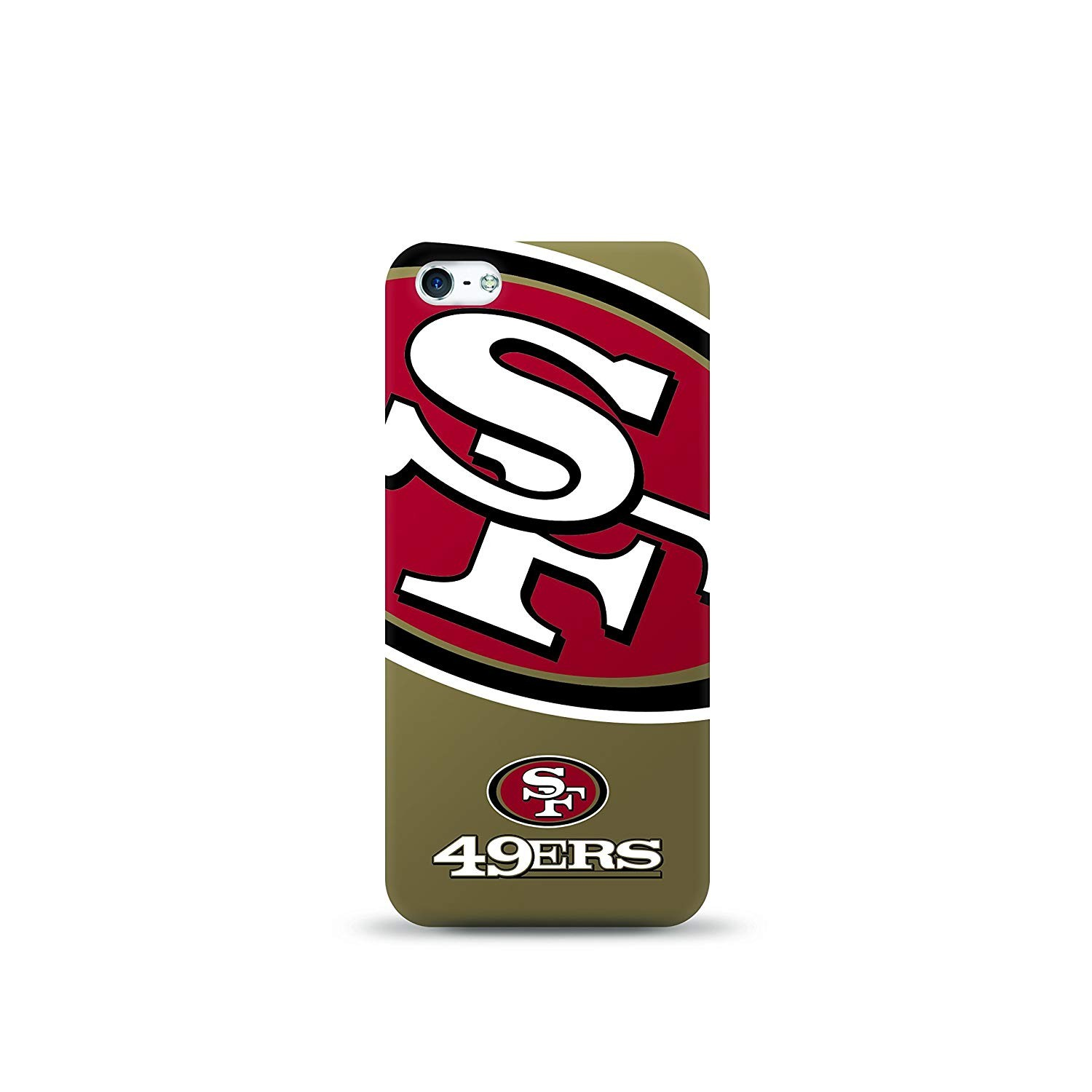 Mizco Sports Oversized Logo Case for Apple iPhone 5/5s - NFL San Francisco 49ers