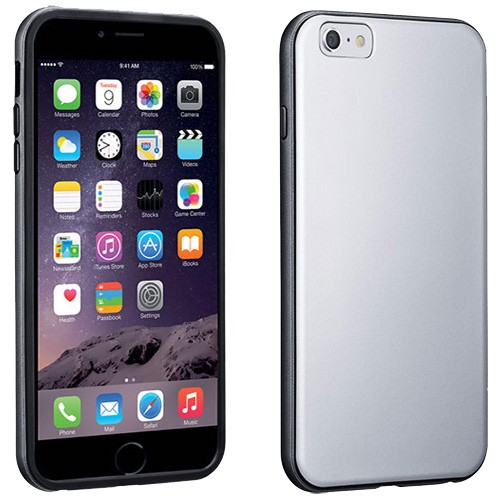 official photos 7d323 8e689 Verizon Soft Cover Case for Apple iPhone 6 Plus/6S Plus - Silver