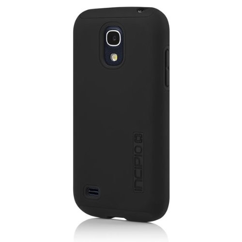 Incipio DualPro Shock-absorbing Case for Samsung Galaxy S4 Mini - Black/Black