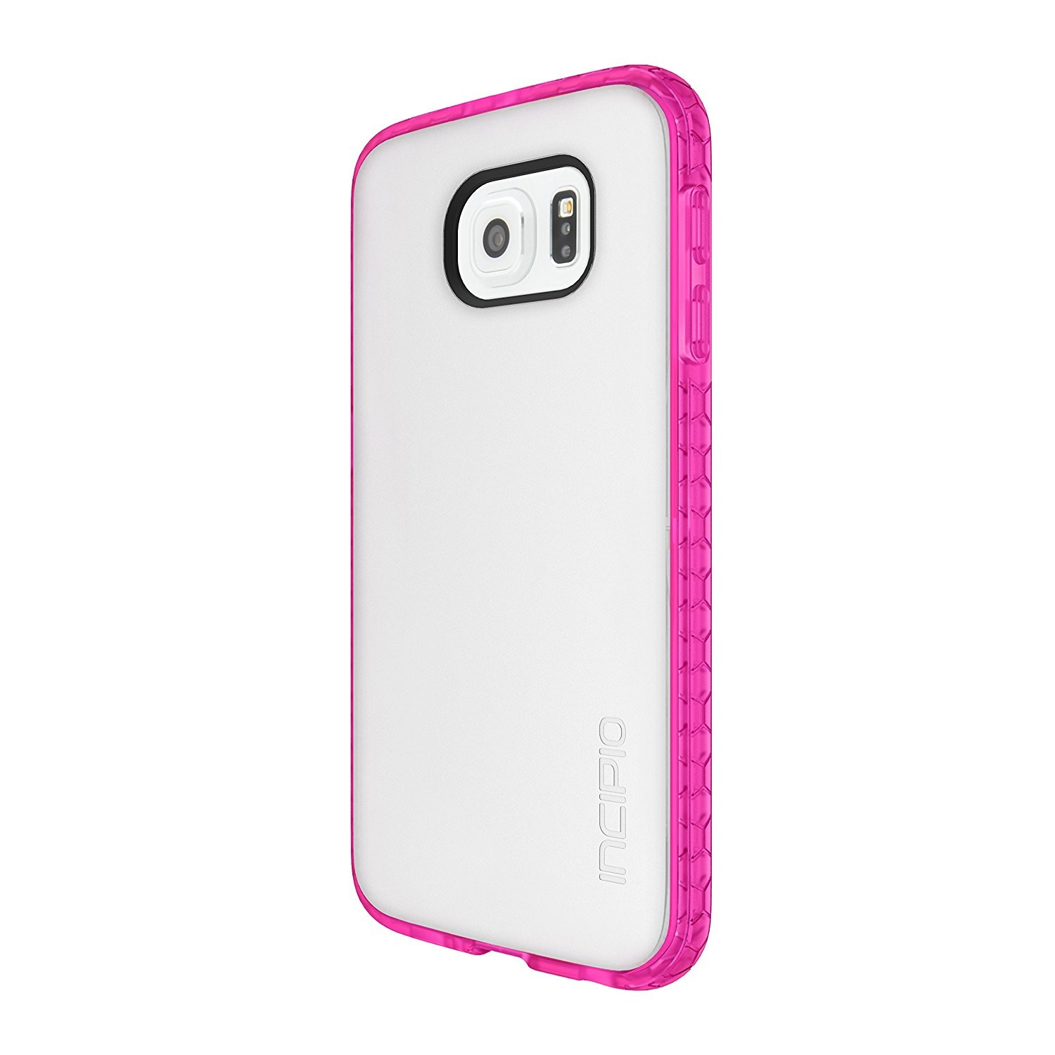 Incipio Octane Shock Absorbing Case for Samsung Galaxy S6 - Frost/Neon Pink