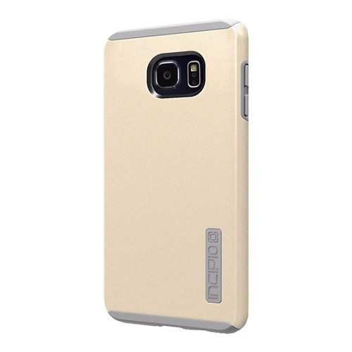 new products 7abe6 d1a3a Incipio DualPro Shock-absorbing Case for Samsung Galaxy S6 Edge Plus -  Champagne Gold