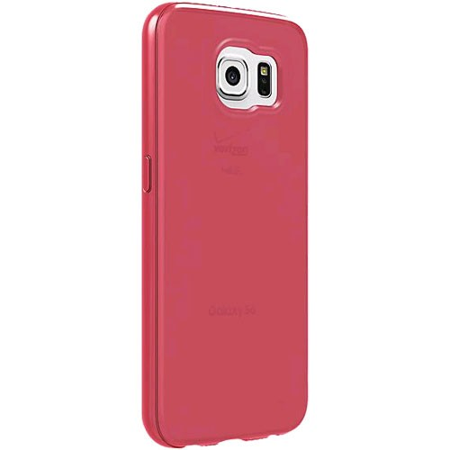 Verizon High Gloss Silicone Case for Samsung Galaxy S6 - Pink