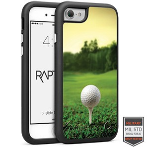 Cellairis Rapture Case for Apple iPhone 7 - Rapt BK Golf Tee'd Up