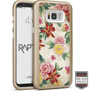 Cellairis Aero Case for Samsung Galaxy S8 Plus - Rapt GD Flowers Vintage