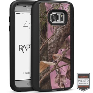 Cellairis Aero Case for Samsung Galaxy S7 - Rapt BK Camo Woods Pink 3