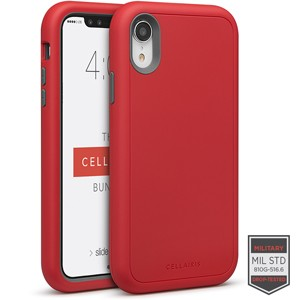 super popular 66794 28548 Cellairis Aero Case for Apple iPhone XR - Rapture Red/Dark Grey Matte Finish
