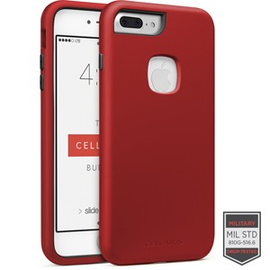 Cellairis Rapture Case for Apple iPhone 7 Plus - Rapture Dark Red/Black Matte Finish