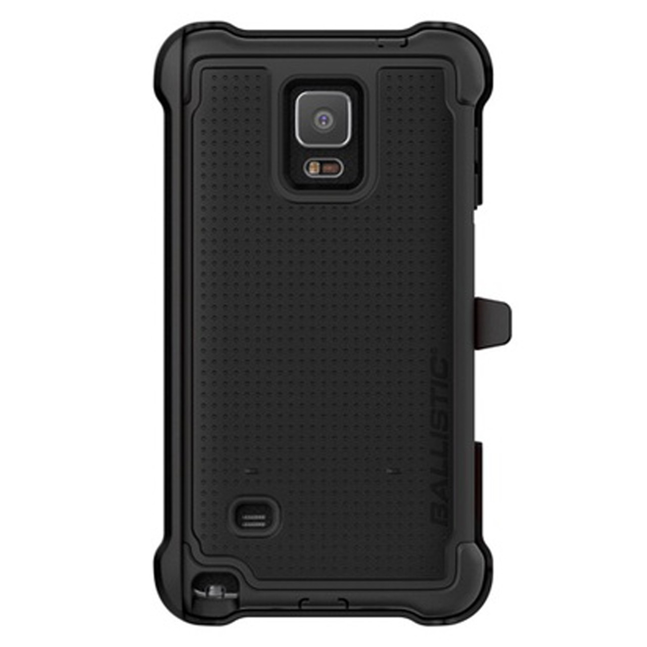 Ballistic Tough Jacket Maxx Case for Samsung Galaxy Note 4 - Black/Black