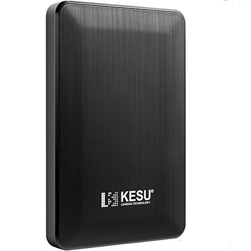 "KESU 2.5"" 320GB Ultra Slim Portable External Hard Drive USB3.0 HDD Storage Compatible for PC, Mac, Desktop, Laptop(Black)"