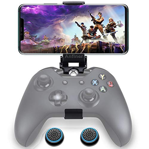 WEPIGEEK Foldable Controller Mobile Phone Holder/Cellphone Clamp/Clip Compatible with Microsoft Xbox One/Xbox One S/Steelseries Nimbus/SteelSeries Stratus XL/Steam Controllers?not Controller