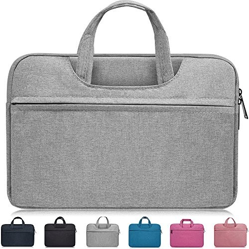 "14-15 Inch Laptop Bag,Waterproof Laptop Sleeve Case for Acer Chromebook 14, HP Pavilion X360 14"",Lenovo Yoga 910/920 13.9"",Dell Latitude 14?,LG Gram 14,ASUS ZenBook 14 Inch Laptop Chomrebook Case,Gray"