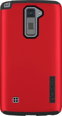 new concept 9f9f4 9bf60 Incipio DualPro Shock-absorbing Case for LG Stylo 2 V - Iridescent Red/Black